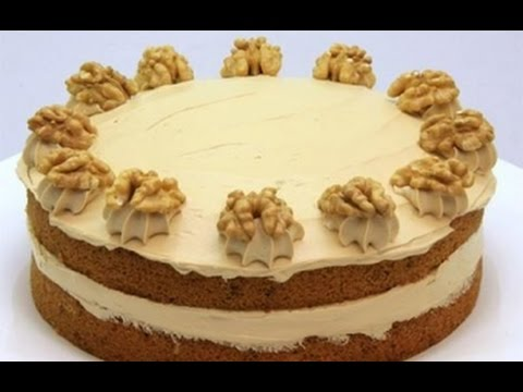 Австрийская кухня_Австрийский кофейно-ореховый торт