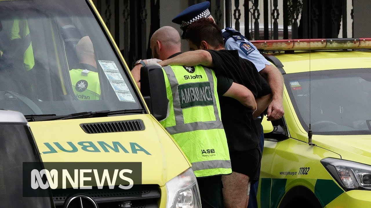 Multiple fatalities in shooting at Christchurch mosques | ABC News #1