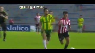 Gol de Facundo Quintana - Aldosivi (MdP) 0 Vs 2 Estudiantes (LP) - Fecha 4 - Liga Argentina