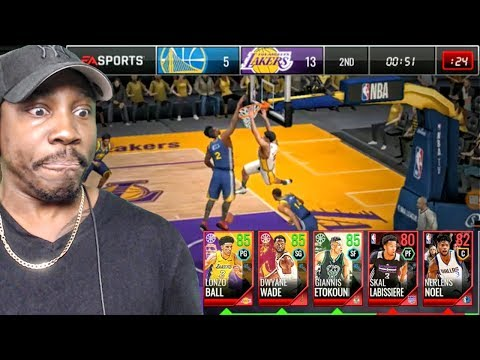 FULL SEASON GAME WITH ALL ELITE LINEUP! NBA LIVE MOBILE 18 EARLY GAMEPLAY! Ep. 6