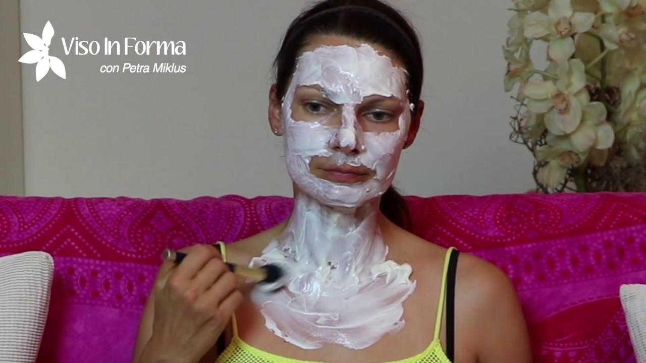 maschera viso yogurt e limone