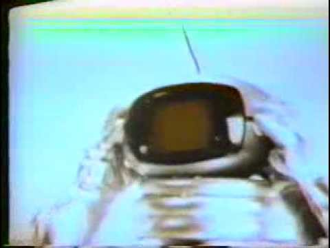 Panasonic 1970 outer space TV commercial features The Orbitel