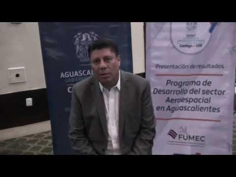 Clausura de programa sobre desarrollo de mipymes de Aguascalientes para el sector aeroespacial
