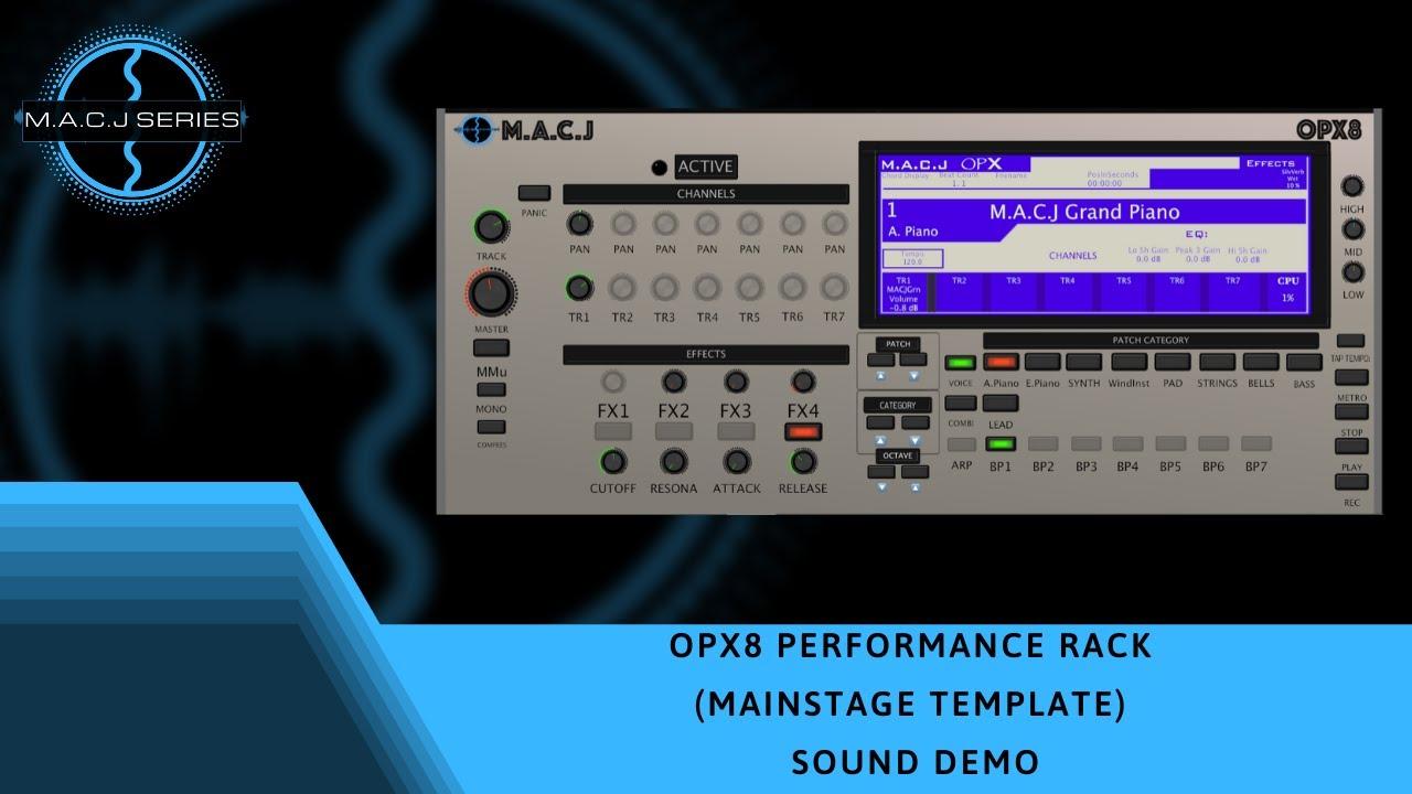 M.A.C.J OPX8 Performance Rack