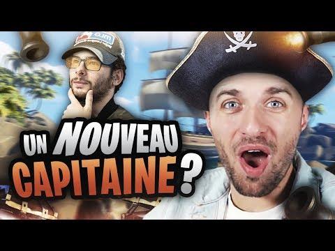 UN NOUVEAU CAPITAINE ?! 😲 (Sea of Thieves ft. Xari, Doigby, AlphaCast)
