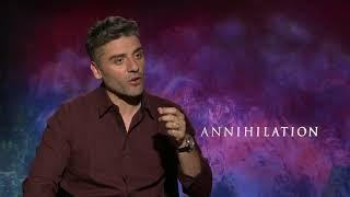 Annihilation Oscar Isaac Interview