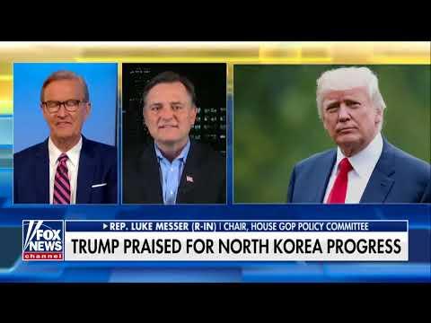 Luke Messer on Fox and Friends: President Trump deserves the Nobel Peace Prize
