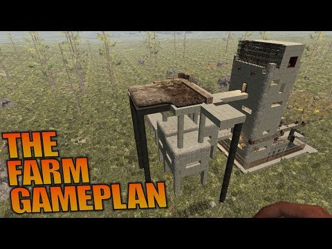 THE FARM GAMEPLAN | 7 Days to Die | Let's Play Gameplay Alpha 16 | S16.4E63