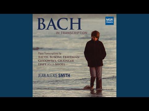 Prelude in E minor, BWV 855a: Prelude in B Minor (Transcription by Alexander Siloti)