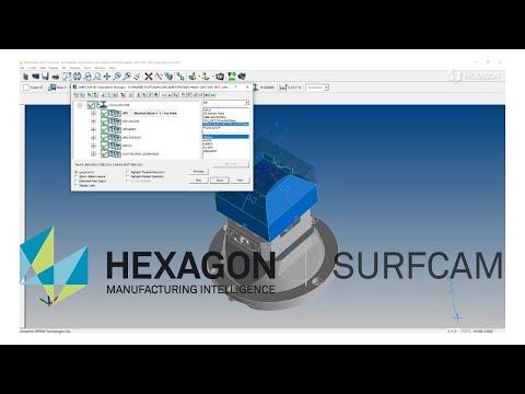CAD/CAM Interface | SURFCAM | NCSIMUL