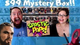 Spastic Pops Funko Pop Mystery Box!!!