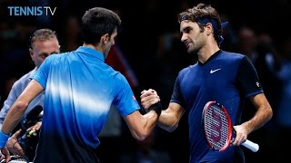 2015 Barclays ATP World Tour Finals on Tuesday - feat. Djokovic v Federer