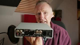 m2Tech Crosby HiFi Class D Amplifier quick presentation and review from eden audio