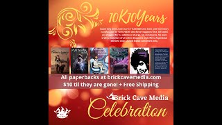 Brick Cave 10 Years 10K Celebration with Sharon Skinner & J.A. Giunta