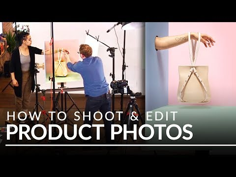 How to Shoot Products: Photography and Background Retouching
