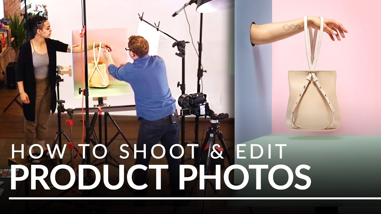 How To Shoot Products Photography And Background Retouching Youtube