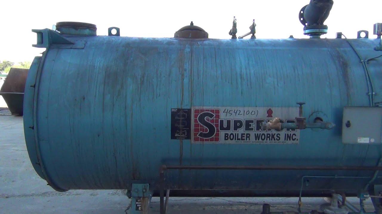 Used- Superior Boiler Works Mohawk Boiler - stock # 45421001 - YouTube