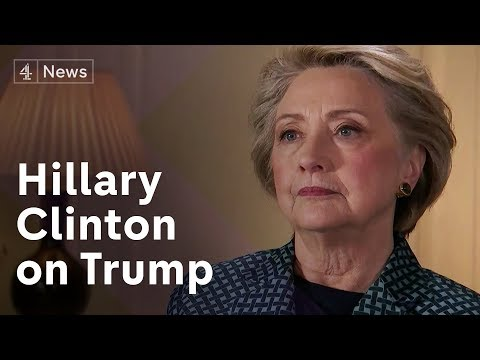 Hillary Clinton on losing and Trump's threat to world peace.  (Full Interview)