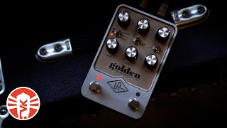 Exploring The Reverb Sounds Of The Universal Audio UAFX Golden Reverberator Pedal