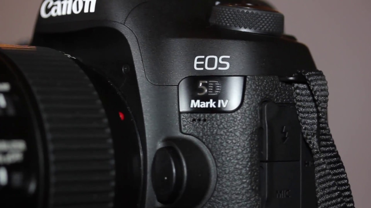 canon eos 5d mark iv dslr camera con 24 105mm f 4l ii lens. Black Bedroom Furniture Sets. Home Design Ideas