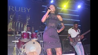 Utenda Ruby akiimba wimbo wa Nandy Kivuruge