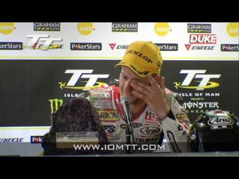 TT 2010 - Superstock Race - Press Conference