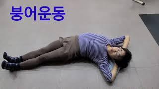 오생단 운동법중 3가지 /모관.붕어.합장합척운동