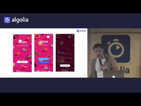 Lessons learned building mobile experiences - Robert Mogos, Algolia