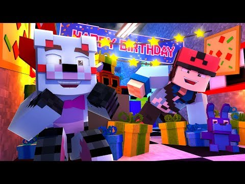 Minecraft Fnaf Daycare - HIDE AND SEEK With The Famous Films
