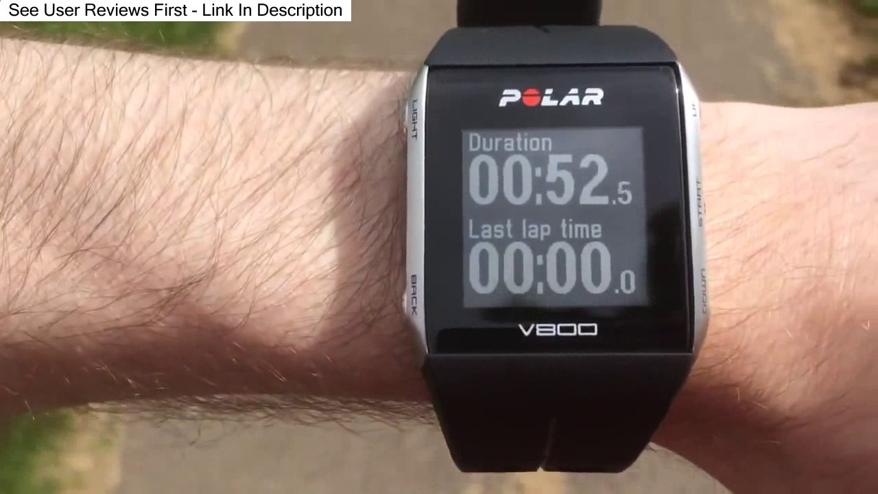 Polar V800 Watch with Heart Rate Monitor Review
