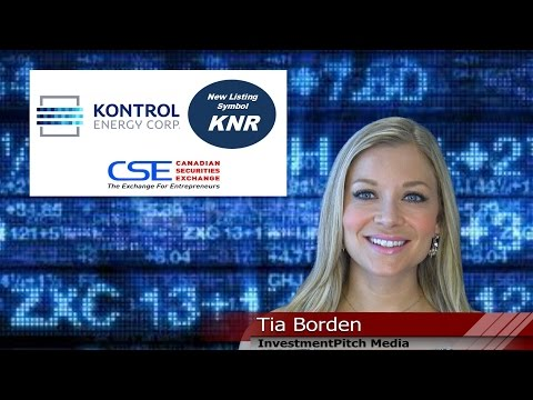 Kontrol Energy (CSE: KNR) New Listing on the Canadian Securities Exchange.