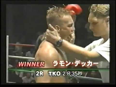 RIP Ramon Dekkers Highlights Muay Thai Kick Boxing Champion passes away