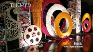 Filmi Style Wedding Theme Decoration By Tulips Events In Pakistan