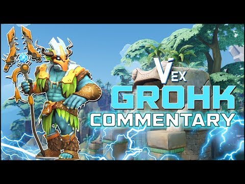 Paladins Pro | Patch 2.01 PTS! Grohk Spirits Domain OP?? | G2 Vex30