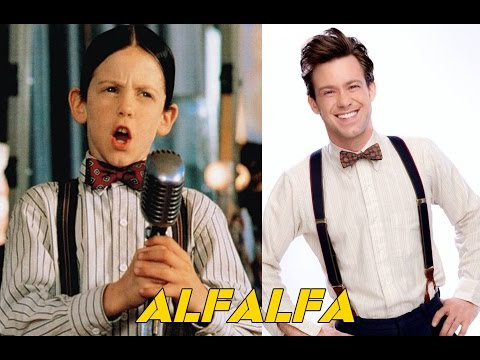 LA PANDILLA LOS PEQUEÑOS TRAVIESOS ANTES Y DESPUES  THE LITTLE RASCALS  BEFORE AND AFTER