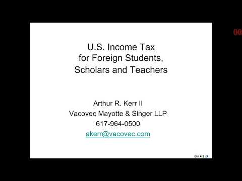 Tax Information Session