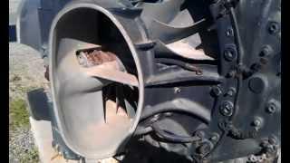 DeHavilland Goblin Engine Cutaway View