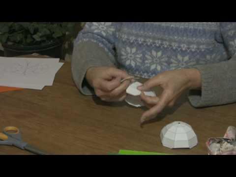 Origami & Paper Crafts : How to Make a Paper Globe