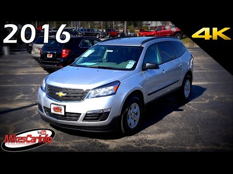 2016 Chevrolet Traverse LS - Ultimate In-Depth Look in 4K
