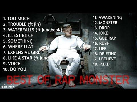 Best Mixtapes of Rap Monster [BTS] || Rap Monster's Greatest Hits
