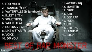 Download lagu Best Mixtapes of Rap Monster Rap Monster s Greatest Hits MP3