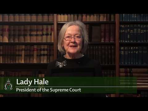 Lady Hale announces the UK Supreme Court will sit in Belfast in 2018
