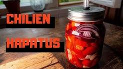 Chili fermentointi