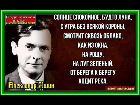 Яшин  Босиком по земле   читает Павел Беседин