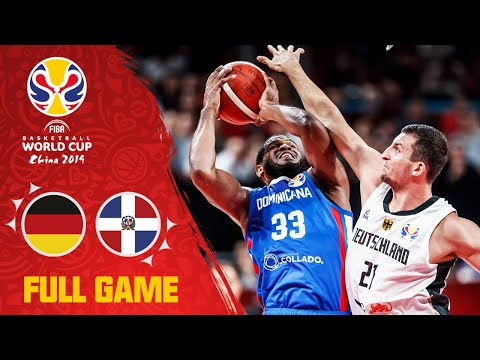 Dominican Republic edge out the German squad - Full Game - FIBA Basketball World Cup 2019