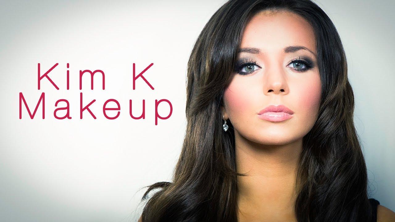 Kim Kardashian Contouring & Highlighting Makeup tutorial w/ cream ...