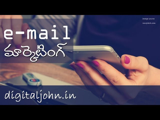 What is E-mail Marketing in Telugu ? || Digital Badi