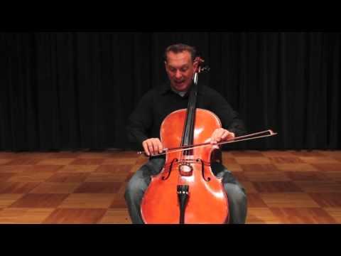 Cello Instruction: C Major two octave scale - Foundational Cello Technique