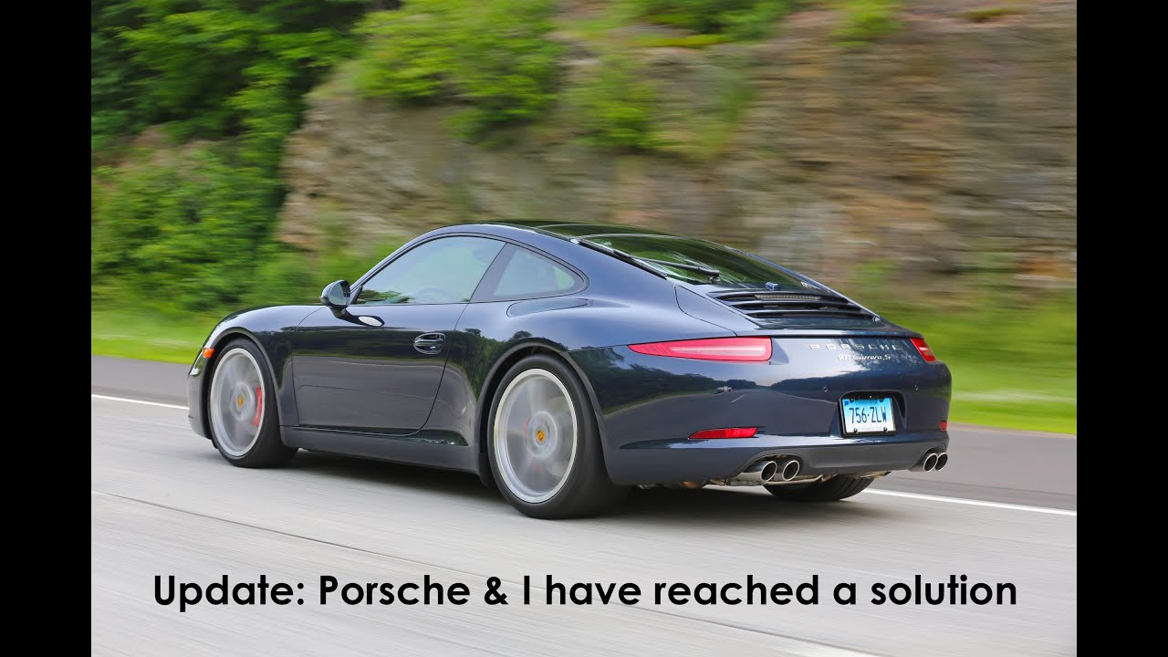 porsche 911 991 issues update porsche and i have reached a rh youtube com 2013 Porsche 911 Carrera 4S 2013 911 Carrera