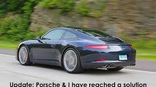Porsche 911 991 issues: UPDATE: Porsche and I have reached a solution thumbnail